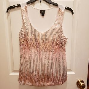 Worthington sequin cami tank size M EXCELLENT!